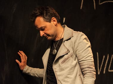 Marcus Kyd as Hamlet in Hamlet, the First Quartro (Photo: C. Stanley Photography)