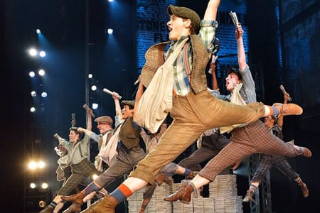 Broadway tour of Newsies