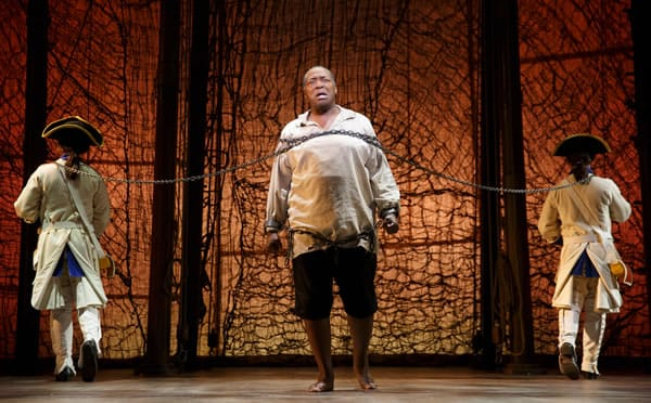 Chuck Cooper in Amazing Grace at the Nederlander Theatre (Photo: Joan Marcus)