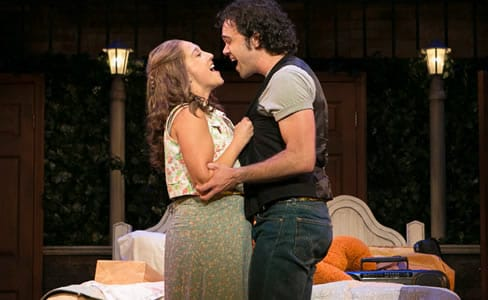Lauren Wright and Nick DeVito in Baby at Infinity Theatre (Photo: Nancy Anderson Cordell)