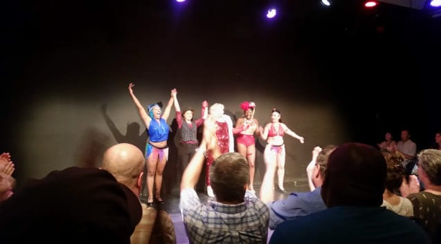Burlesque Classique's Vaudevillian Romp for the win!