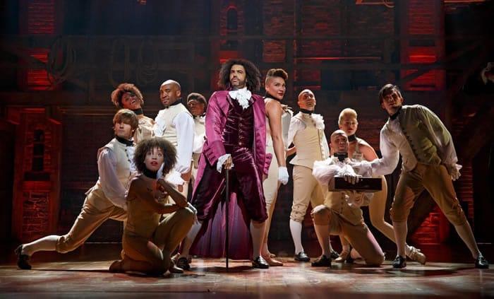 Daveed Diggs as Thomas Jefferson in Hamilton (Photo: Joan Marcus)