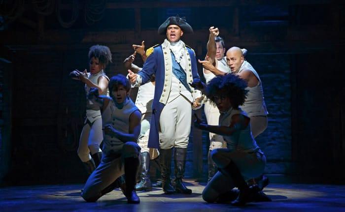 Christopher Jackson as George Washington (Photo: Joan Marcus)