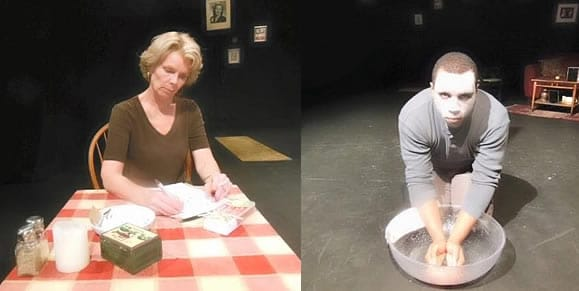 Claire Schoonover and Clayton Pelham in Solomon and Marion at Anacostia Playhouse (Photo courtesy of Anacostia Playhouse