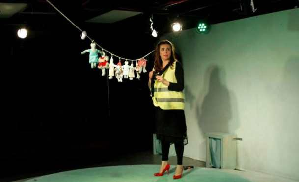 Vivian Allvin in Witches Vanish at Venus Theatre Company