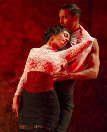 Principal Dancers Fanny Ara and Timo Nuñez in Carmen from Washington National Opera (Photo: Scott Suchman)