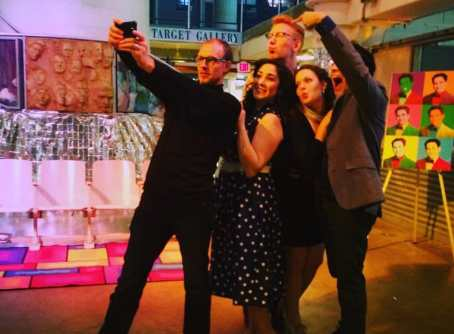The cast of Cosi fan Tutte (Photo: Jennifer Williams)