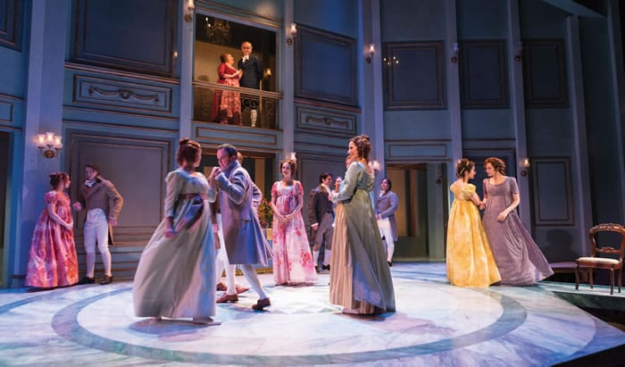 The cast of Pride and Prejudice at Center Stage (Photo: Richard Anderson)