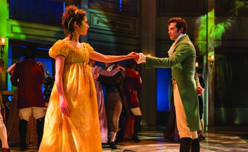 Kate Abbruzzese and A. J. Shively in Pride and Prejudice at Center Stage (Photo: Richard Anderson)