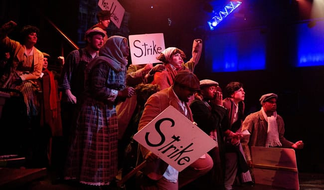 Ragtime ensemble, Toby's Dinner Theatre (Photo: Jeri Tidwell)