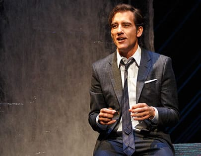 Clive Owen in Old Times at American Airlines Theatre (Photo: Joan Marcus)