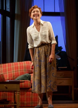 Julie White in Sylvia at the Cort Theatre