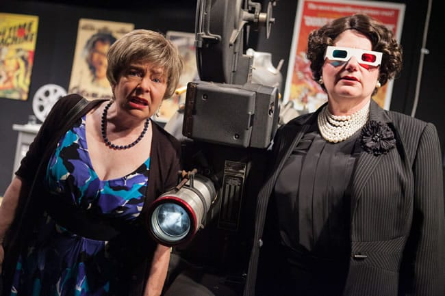 Lynn Steinmetz and Laura Giannarelli in Tiny Island from Washington Stage Guild (Photo: C. Stanley Photography)