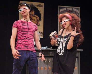 David Mavricos and Nora Achrati in Tiny Island at Washington Stage Guild (Photo: C. Stanley Photography)