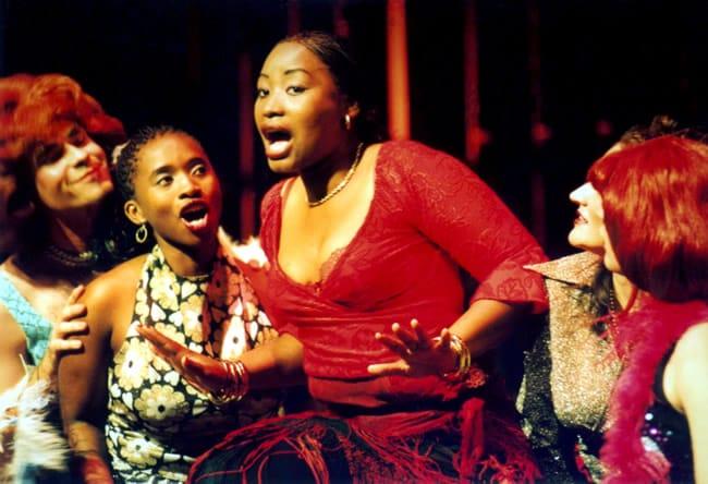 Isango Ensemble perform U-Carmen, featuring Pauline Malefane as Carmen