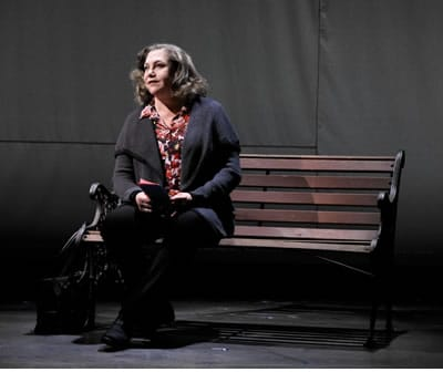 Kathleen Turner in Would You Still Love Me If... (Photo: Len Prince)