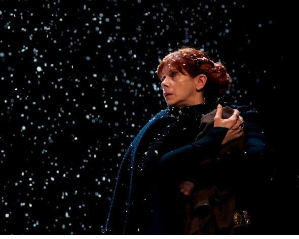 Siobhan Redmond as Gruach in Dunsinane (Photo: Richard Campbell)