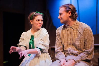 Liz Dutton and Devon Ross in Holiday Memories from WSC Avant Bard (Photo: DJ Corey)