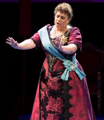 Daryl Freedman as Queen Lili?uokalani in Better Gods from Washington National Opera (Photo: Scott Suchman)