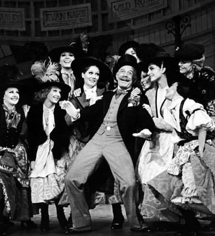 George Rose as Alfred P. Doolittle in My Fair Lady, 1976