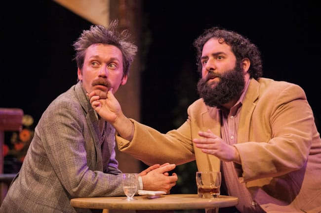 Bradley Foster Smith and Lee Liebeskind in Picasso at the Lapine Agile (Photo: C. Stanley Photography)
