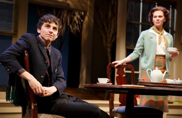 Timothée Chalamet and Annika Boras in Prodigal Son by John Patrick Shanley (Photo: Joan Marcus)