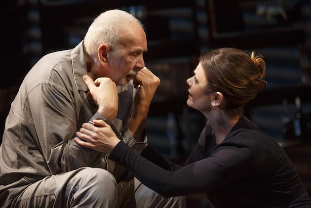 Frank Langella and Kathryn Erbe in The Father on Broadway (Photo: Joan Marcus)