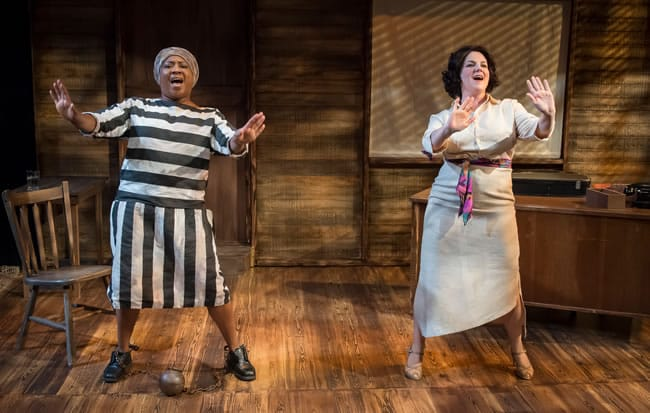 Roz White and Teresa Castracane in Black Pearl Sings! at MetroStage (Photo: Chris Banks)