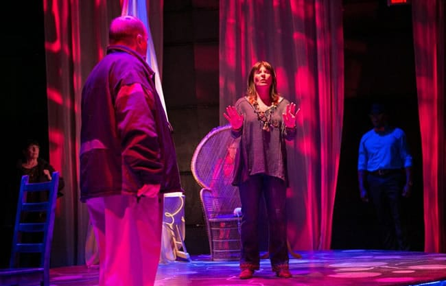 J. Shawn Durham and Jennifer J. Hopkins in The Electric Baby from Rorschach Theatre.