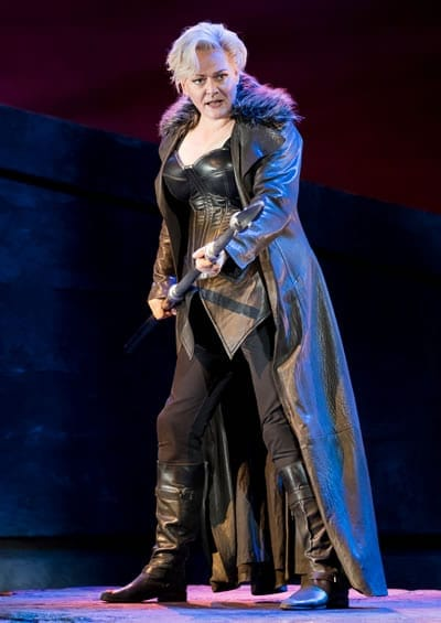 Catherine Foster as Brunnhilde in The Valkyrie, The Ring of the Nibelung, Washington National Opera (Photo: Scott Suchman)