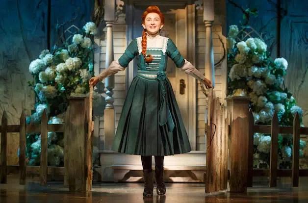 Sarah Charles Lewis as Winnie Foste in Tuck Everlasting (Photo: Joan Marcus)