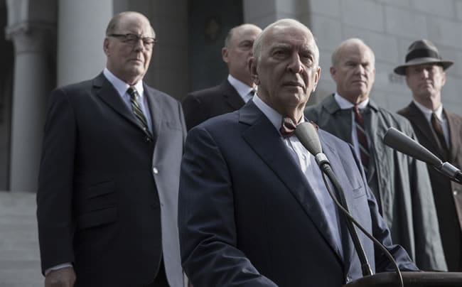 The opposition: Frank Langella as Senator Richard Russell in HBA's All the Way(Photo: HBO)