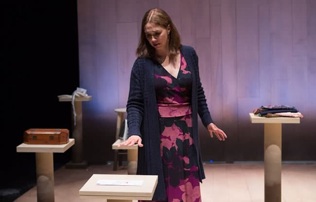 Holly Twyford as Vivienne Avery in Blackberry Winter at Folger Theatre (Photo: Teresa Wood Photography)