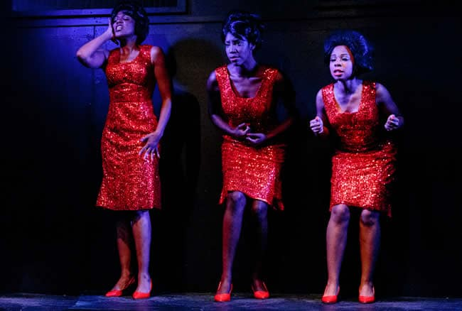 (l-r) Kara-Tameika Watkins, Tiffany Byrd, DeAndriea Norman in Caroline, or Change from Creative Cauldron