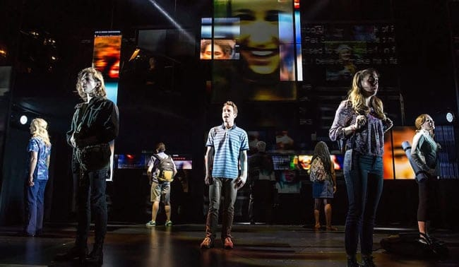 The cast of Dear Evan Hansen (photo: Matthew Murphy)
