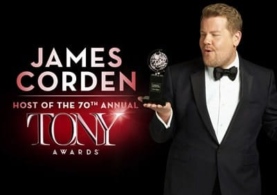 James Corden to host the 70th Annual Tony Awards