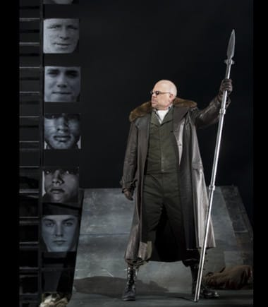Alan Held as Wotan in Washington National Opera's The Valkyrie (Photo: Scott Suchman)