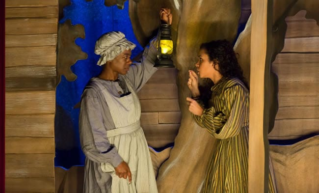 Erika Rose and  Kathryn Tkel in An Octoroon at Woolly Mammoth Theatre (Photo: Scott Suchman)