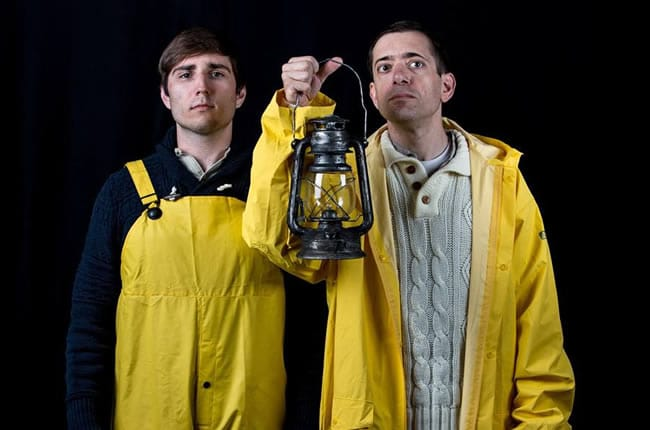 Brian Kraemer and Zach Brewster-Geisz in The Lighthouse Keeper