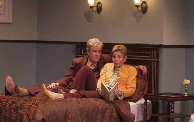 (Dana Scott Galloway and Carolyn (Adele Robey in Riches (Photo courtesy of Anacostia Playhouse)