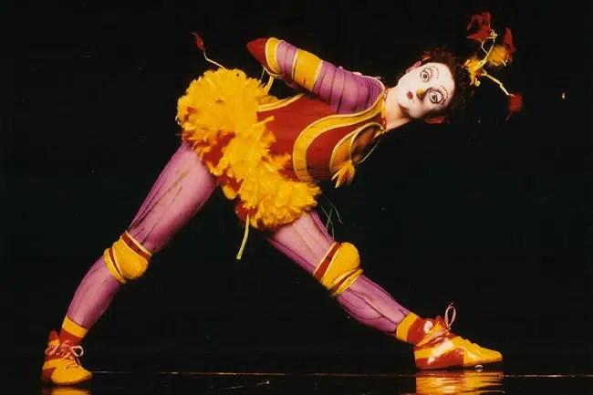 Elana Day as The Green Bird (Photo courtesy of Cirque du Soleil)