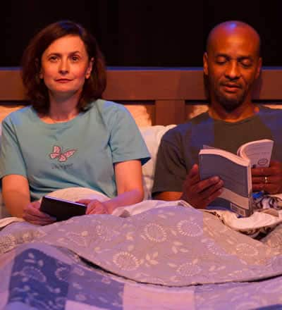 in Dinner with Friends. Photo courtesy of Peter's Alley Theatre Productions
