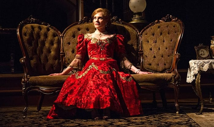 Marg Helgenberger as Regina in Lillian Hellman's The Little Foxes at Arena Stage (Photo: C. Stanley Photography)