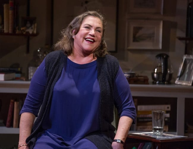 Kathleen Turner as Joan Didion in The Year of Magical Thinking at Arena Stage at the Mead Center for American Theater, (Photo: C. Stanley Photography)