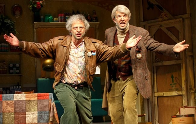 Nick Kroll and John Mulaney in Oh, Hello on Broadway (Photo: Joan Marcus)