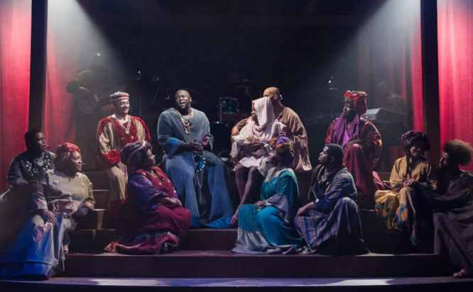 The Ensemble of Theater Alliance's Black Nativity (Photo: C. Stanley Photography)