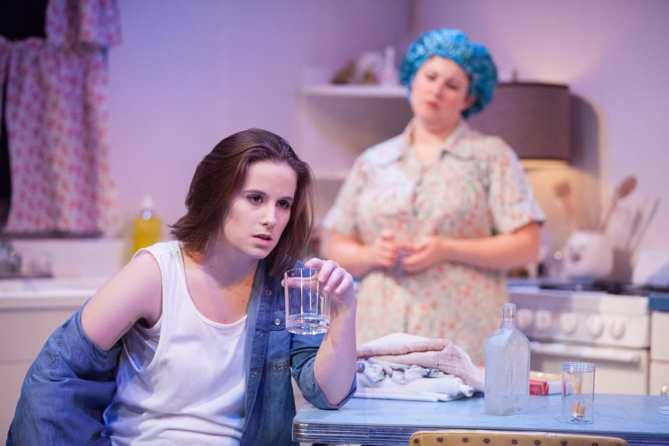 (l-r) Jill Tighe (Cathryn), Karen Lange (Mama) in Tame. from WSC Avant Bard (Photo: DJ Corey Photography)