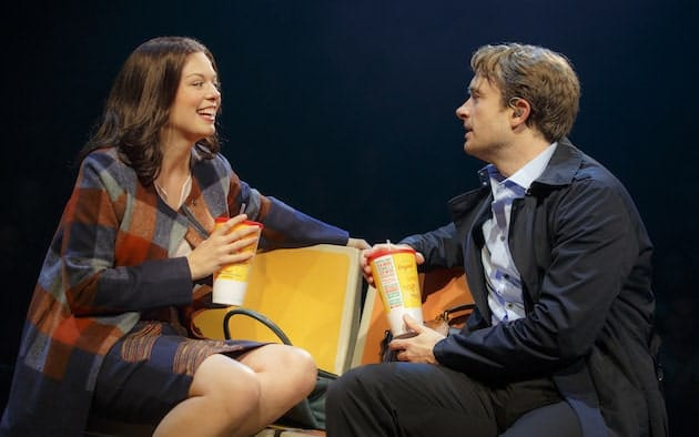 Margo Seibert and James Snyder in In Transit. Photograph by Joan Marcus.