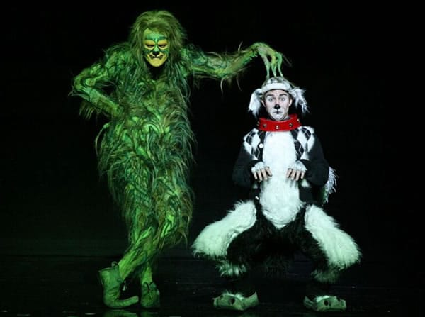 05 – Grinch and Max: Dr. Seuss' How the Grinch Stole Christmas! The Musical 2014 tour company, playing National Theatre December 13 - 31, 2016