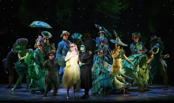 The cast of the National Tour of Wicked at The Kennedy Center (Photo: Joan Marcus)
